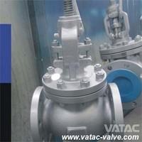 BS 1873 Standard Flanged type Cast Steel Globe Valve, Stop Valve Manufacturer