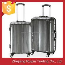 wholesale aluminum frame abs+pc luggage