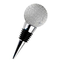 golf shape father gift wine stopper MH-L0182