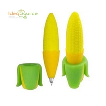 Novelty Stationery Creative Corn Cute Ballpoint Pen School Office Supplies