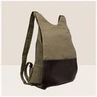 novo estilo de lona mochila de viagem mochila de lona