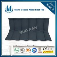 aluminium stone granule coated steel roof tile