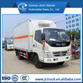 foton 20 cbm شاحنة شاحنة تبريد الفولاذ المقاوم للصدأ، شاحنة مبردة، البرد سيارة للبيع