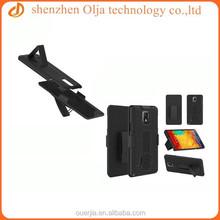 Olja new hot item 2 in 1 belt clip case for galaxy note 4, for samsung galaxy note 4 fashion belt clip case