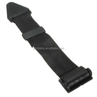 Brand New VEHICLE CAR BLACK approx 32cm CHILDREN SEAT BELT EXTENSION EXTENDER SAFETY BUCKLE ADJUSTER