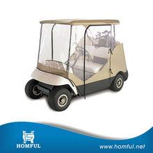 waterproof golf club car rain cover wheel cover polyester golf cart cover