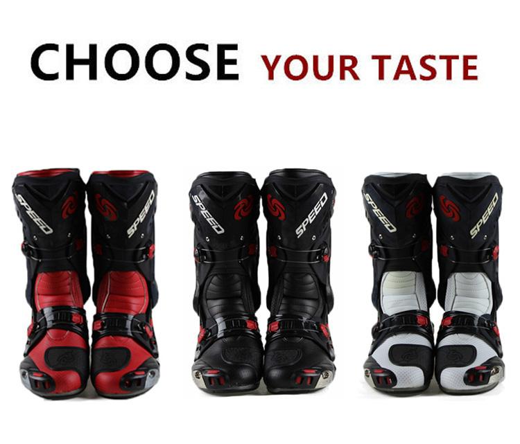 2014 New Men's Motorcycle Motocross Boots Racing Winter & Summer