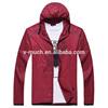 Outdoor waterproof running hiking windbreaker jacket for men