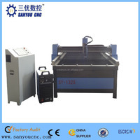 With very high precision for cutting SS MS and other metals cnc plasma cutting machine engraving machine