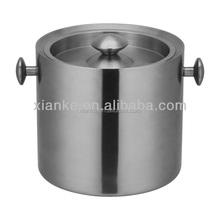 FDA 3.0L Stainless Steel wine cooler bucket japan silver beer holder for pub