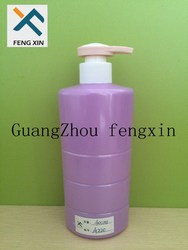400ml purple pet plastic shampoo bottle for sale at factory price
