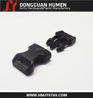 Jinyu popular pet collar breakaway buckle/curved plastic buckle overalls
