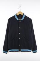 Mens High Fashion Woolen Baseball Jacket