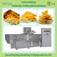Hot Sale Jinan Sunpring automatic doritos, tortilla ,nachos, bugles, corn chips making machine with factory price.