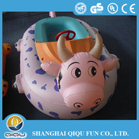 2015 Top Selling Inflatable Motor Animal Style Bumper Boat