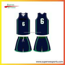 basketball team uniform unsex shirt and custom print exercise uniforms basketball tops for girl and boy