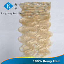 Cheap 100% Remy Human Hair one piece clip in curly hair extension
