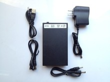 12V DC Large Capacity Rechargeable Portable Li-ion Battery Pack Indicator for LED Strip/CCTV Camera/Christmas Light/Router