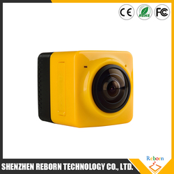 New Arrival Cube 360 H.264 WIFI Action Camera 360 Degrees Camera