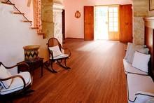 German technology embossed & hand scraped bamboo flooring