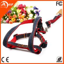 Personalized Dog Harness / Dog Leash Nylon / Wholesale Pet Harness and Leash Set