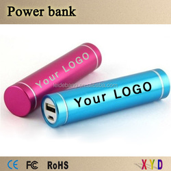 Hot new products for 2015 lipstick power bank 2600mah on alibaba