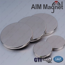 Gloden Magnet Supplier Industrial High Quality Permanent Round Magnet