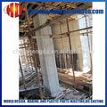 plástico de cofragem para colunas de concreto