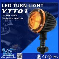 2015 hot sale driving light 0.5W led driving turn signal light rear light autobike red led back lamp