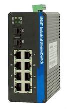 Hot selling OEM 48V media converter network managed POE Switch 8 port web smart power Switch