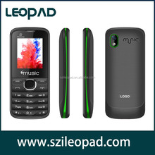 $5.69 factory price oem very cheap mobile phone in china of 1.8 inch dual sim GSM quad band with Watsapp Twitter Yahoo