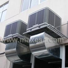 CE green aircoolers green cooler cooling ventilator