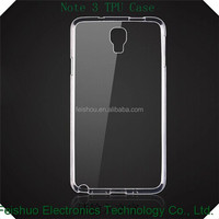 For Samsung Galaxy Note3 N9000 TPU Gel Jelly Skin Case Back Cover Crystal Clear Case