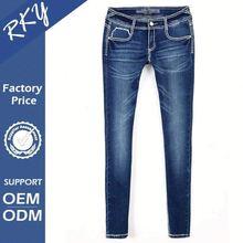 Maßgefertigten eco- freundlich sexy skinny mädchen engen jeans