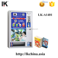 LK-A1401 Hanging on the wall coin operated tissue paper vending machine
