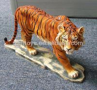 resin tiger animal
