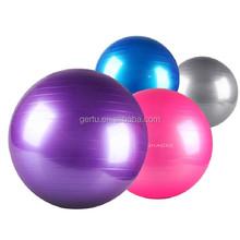 2015 Oval Gym Ball Customized Yoga Exercise Ball With Logo Printed Yoga ball