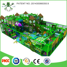 Forest theme children indoor soft play areas playground equipment / kids play system structure for games