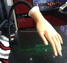 Brand BIN Practice Hands fashion Hard Plastic Artificial Hand Nail Training Practice Hand
