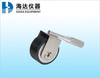 Rolling wheel manual tape adhesion roller