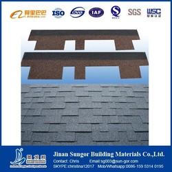 Indonesia fiberglass asphaltic shingle best quality supplier