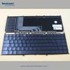 Genuine Laptop keyboard for ASUS TF201 Hebrew black keys chocolate brown topcase