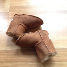 100% Pure Sheepskin Genuine Sheepskin Boots Real Australia Boots For Baby