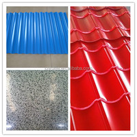 Pre-painted Corrugated Roofing Sheet/Rapezoid steel roofing sheet