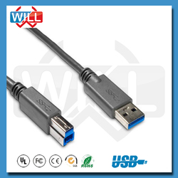 FACTORY European colorful high quality usb 3.0 b female to micro b male cable