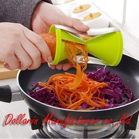 Veggie cutter fruit and vegetable twister sprial slicer easy fruit vegetable cutter decorative vegetable cutters