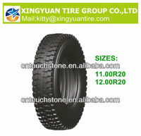 12.00R20 Tire New design radial truck and bus tire