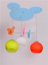 light weight kids pendant lamp children ball lamp mickey bubble pendant lamp wooden pendant light