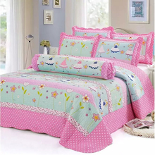 wholesale 100% cotton christmas kids comforter sets bedding