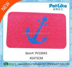 2016 China wholesale PVC pet feeding mat